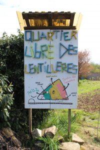 panneau d'accueil, Dijon.